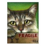 FRAGILE POST CARD