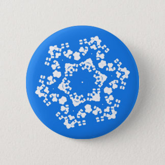 Fragile Snowflake Christmas Pin
