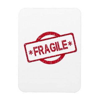 Fragile Stamp Magnet