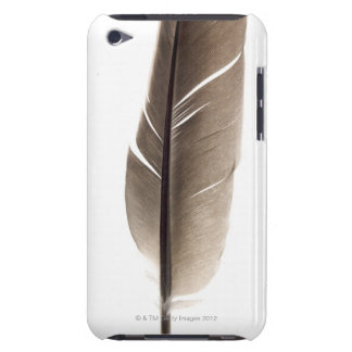 Fragile white feather barely there iPod case