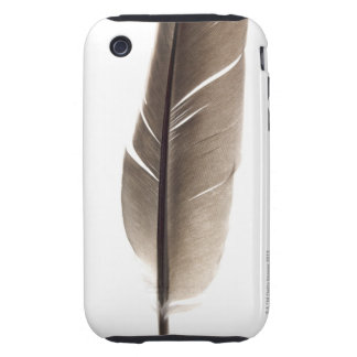 Fragile white feather iPhone 3 tough case