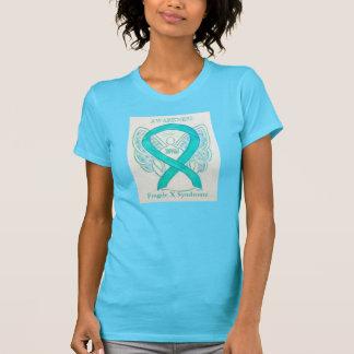 Fragile X Syndrome Awareness Ribbon Angel Shirt