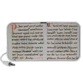 Fragment from a Cathar manuscript Mp3 Speaker