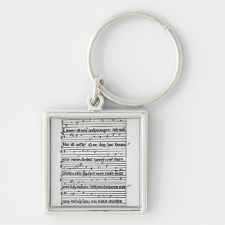 Fragment of a poem key chains