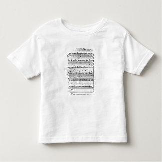 Fragment of a poem t-shirt