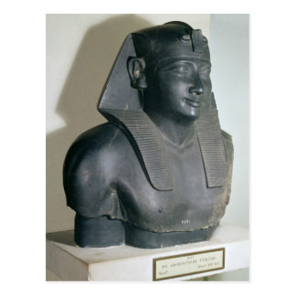 Fragment of an Egyptian style statue of Ptolemy I Postcard
