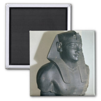 Fragment of an Egyptian style statue of Ptolemy I Square Magnet