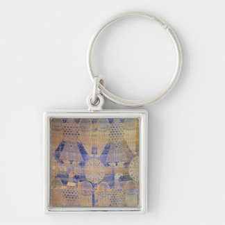 Fragment of the 'Shroud of St. Germain' Key Ring