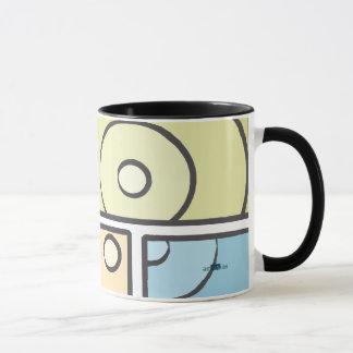 Fragmented Blue Mug