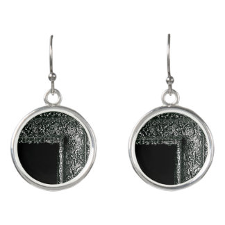 FRAGMENTED ICONOGRAPHY EARRINGS