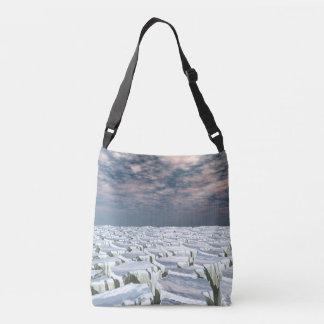 Fragmented Landscape Crossbody Bag