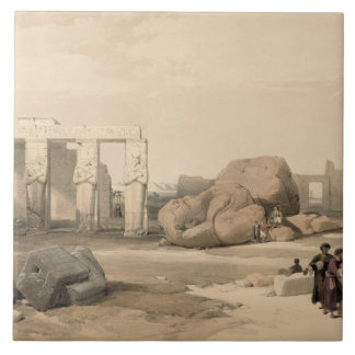 Fragments of the Great Colossus at The Memnonium, Large Square Tile