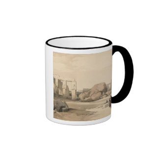 Fragments of the Great Colossus at The Memnonium, Mugs