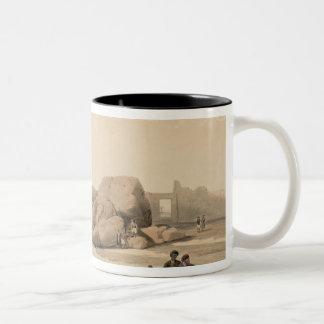 Fragments of the Great Colossus at The Memnonium, Mug