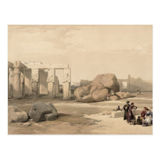 Fragments of the Great Colossus at The Memnonium, Postcards
