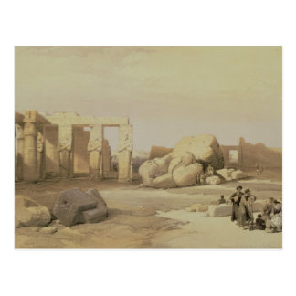 Fragments of the Great Colossus Postcard