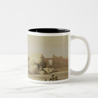 Fragments of the Great Colossus Two-Tone Coffee Mug