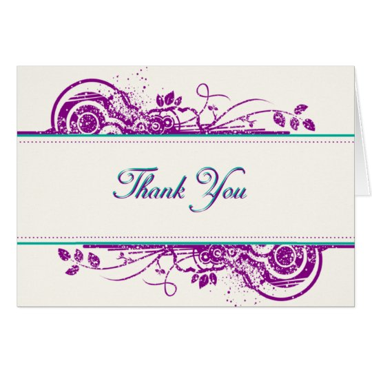 Fragrance - Art Thank you card