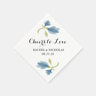 Fragrant Freesia Petals | Cheers to Love Disposable Napkin
