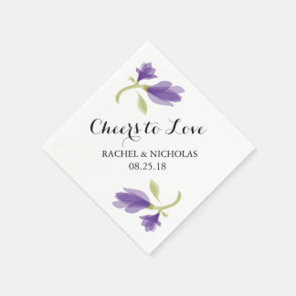Fragrant Freesia Petals | Cheers to Love Disposable Napkins