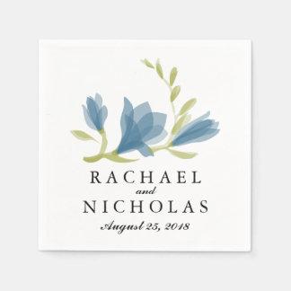 Fragrant Freesia Petals | Wedding Reception Disposable Serviette