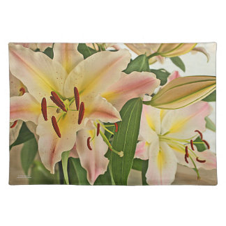 Fragrant Lilies Placemat