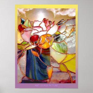Fragrant Table Flower Anniversary Poster
