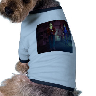frail copy doggie t-shirt