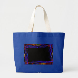 frame-417838 SQUARES RECTANGLES frame dark color Tote Bags