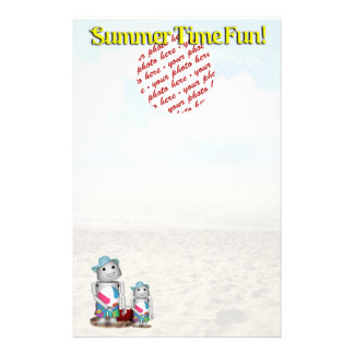 Frame at the Beach Stationery Design