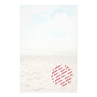 Frame at the Beach Stationery