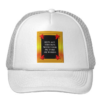 Frame: Fall colors and leaves Trucker Hat