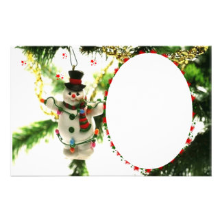 "Frame for photo ""Doll of Christmas "" Customised Stationery"