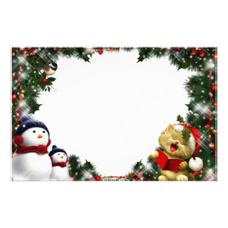"""Frame for photo """"Good looking singer """" Stationery Paper"""