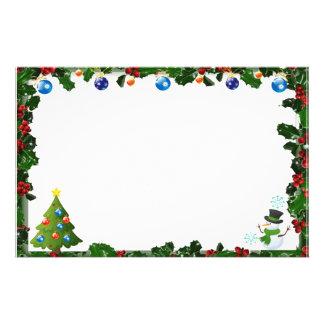 "Frame for photo ""natalinos Ornaments "" Stationery Design"