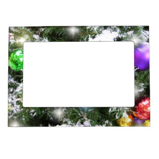 Frame - Magnetic - Christmas Glow & Faux Snow
