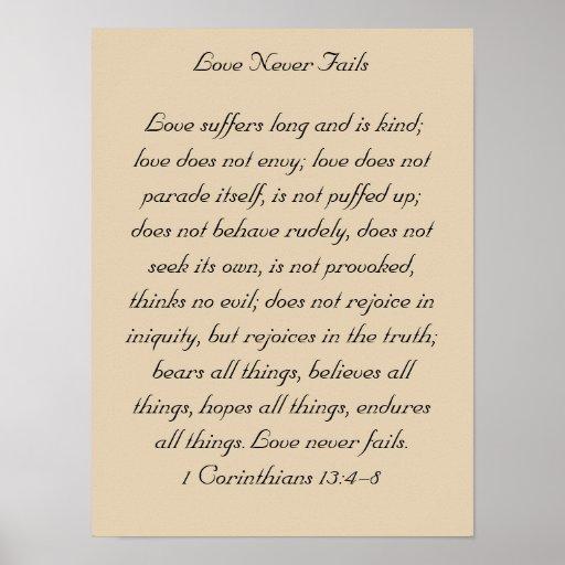 Framed Bible Verse Artwork, 1 Corinthians 13, Love