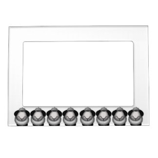 Framed by Sheep! Magnetic Picture Frame