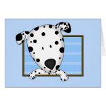 Framed Cartoon Dalmatian