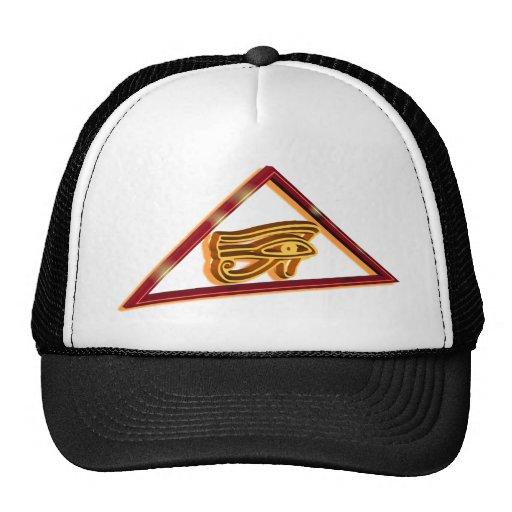 Framed Eye of Horus Trucker Hat