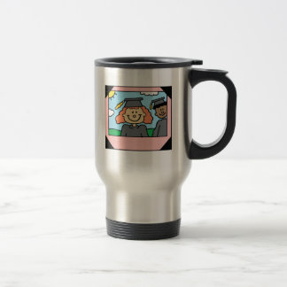 Framed Girl Grad Coffee Mug