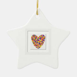Framed Heart Christmas Ornament