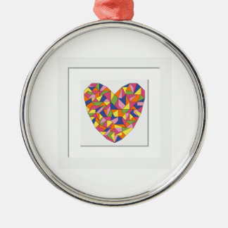 Framed Heart Christmas Ornament