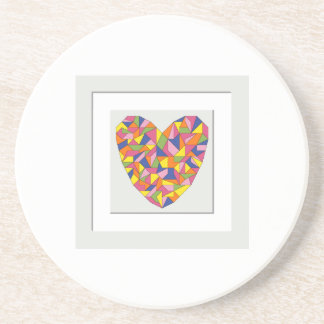 Framed Heart Coaster