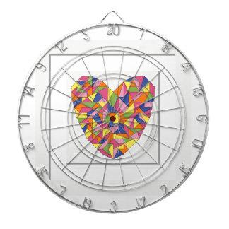 Framed Heart Dartboard