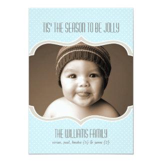 Framed in Sky Double Sided Holiday Photo Card 13 Cm X 18 Cm Invitation Card