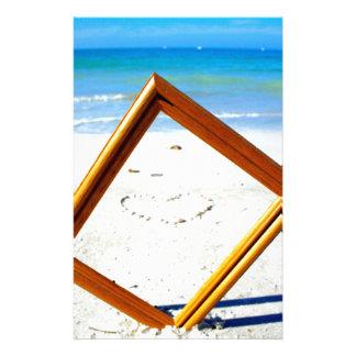 Framed Love Customized Stationery