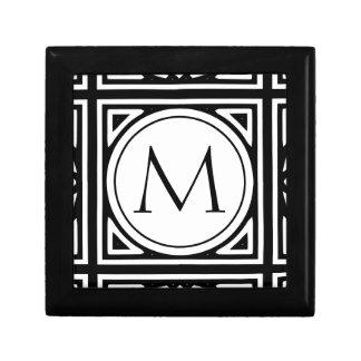 Framed Monogram Gift Box