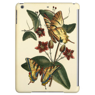 Framed Painting of Butterflies and Flowers iPad Air Case