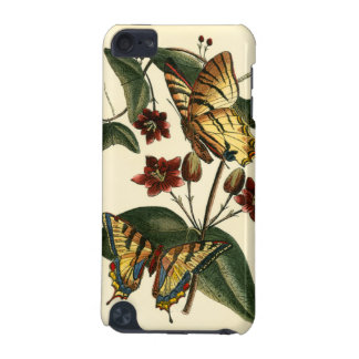Framed Painting of Butterflies and Flowers iPod Touch (5th Generation) Cases